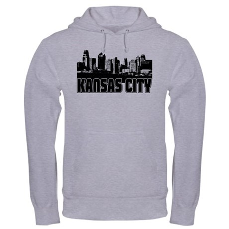 Kansas City Skyline Hooded Sweatshirt
