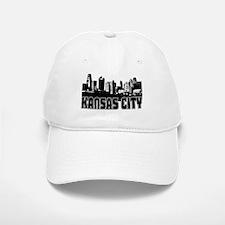 Kansas City Skyline Baseball Baseball Cap