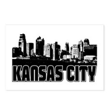 Kansas City Skyline Postcards (Package of 8)