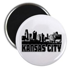 Kansas City Skyline Magnet