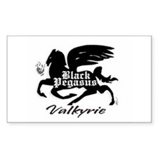 BLACK PEGASUS Decal