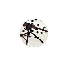 3D 50 cal Mini Button (10 pack)