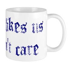 No One Likes Us Small Mug
