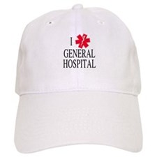 I Love General Hospital Baseball Cap
