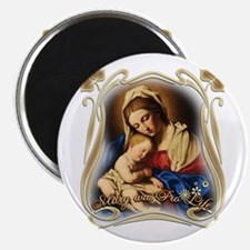 """Mary was Pro-Life 2.25"""" Magnet (10 pack)"""
