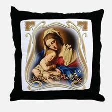 Mary was Pro-Life Throw Pillow