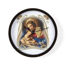 Mary was Pro-Life Wall Clock