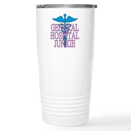 General Hospital Junkie Stainless Steel Travel Mug