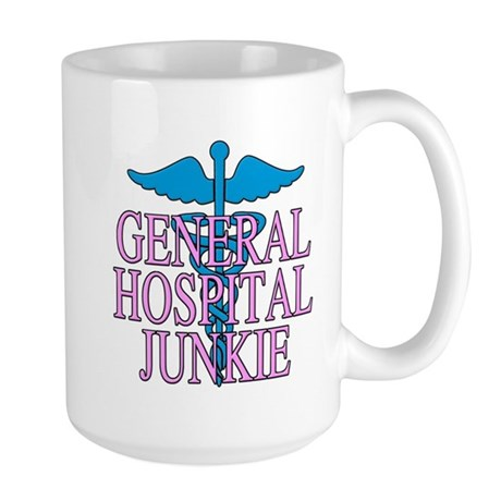 General Hospital Junkie Large Mug