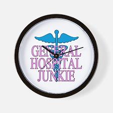 General Hospital Junkie Wall Clock