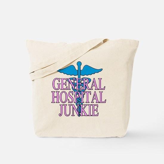 General Hospital Junkie Tote Bag