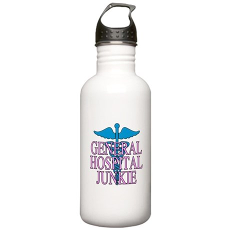 General Hospital Junkie Stainless Water Bottle 1.0