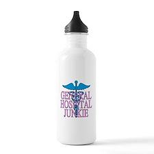 General Hospital Junkie Water Bottle
