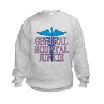 General Hospital Junkie Kids Sweatshirt