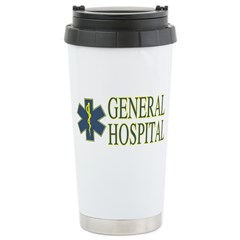 General Hosptial Stainless Steel Travel Mug