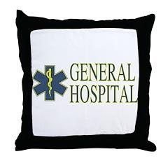 General Hosptial Throw Pillow