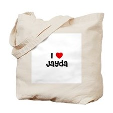 I * Jayda Tote Bag