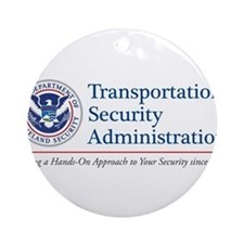 TSA Hands-On Ornament (Round)