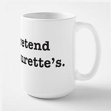 Tourette's Large Mug