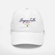 Niagara Falls Script Baseball Baseball Cap