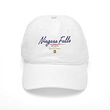 Niagara Falls Script Baseball Cap