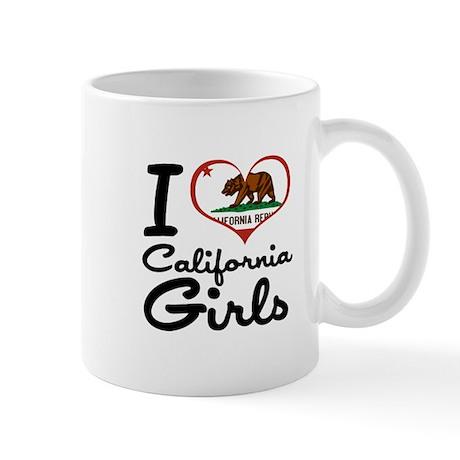 I Heart California Girls Mug