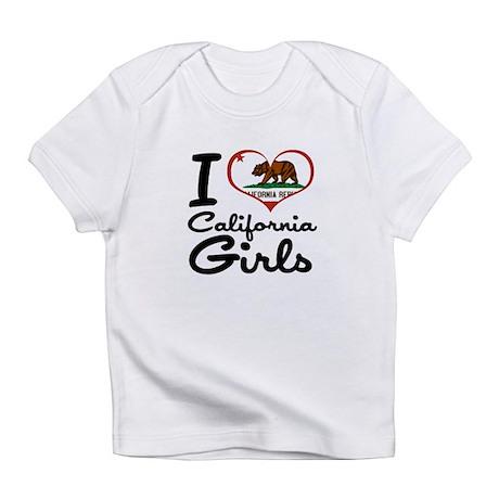 I Heart California Girls Infant T-Shirt