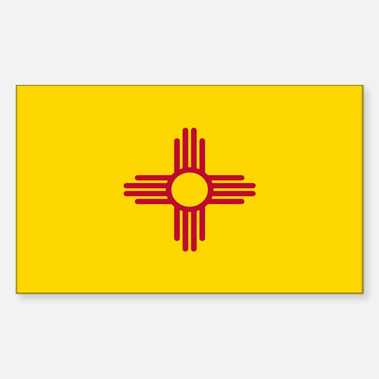 Flag of New Mexico Decal