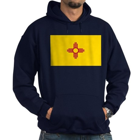 Flag of New Mexico Hoodie (dark)