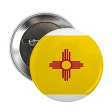 "Flag of New Mexico 2.25"" Button"