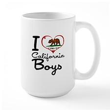 I Heart California Boys Mug