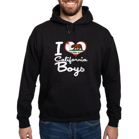 I Heart California Boys Hoodie (dark)
