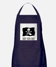 Cute Chef pirate Apron (dark)