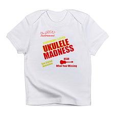 funny ukulele madness Infant T-Shirt