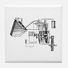 Gil Warzecha - Tile Coaster