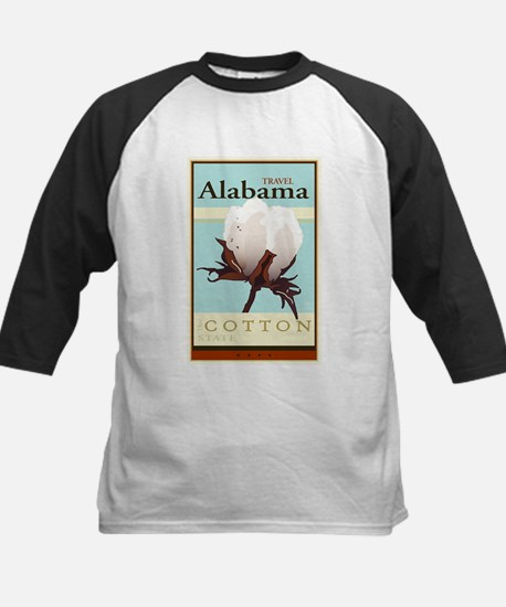 Travel Alabama Kids Baseball Jersey