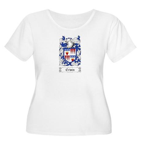 Erwin Women's Plus Size Scoop Neck T-Shirt