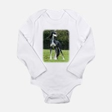 Saluki 8R012D-14 Long Sleeve Infant Bodysuit