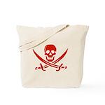 Pirates Red Tote Bag