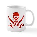 Pirates Red Mug