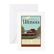 Travel Illinois Greeting Card