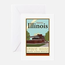 Travel Illinois Greeting Cards (Pk of 10)