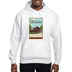 Travel Illinois Hoodie