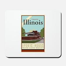 Travel Illinois Mousepad