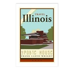 Travel Illinois Postcards (Package of 8)