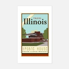 Travel Illinois Decal