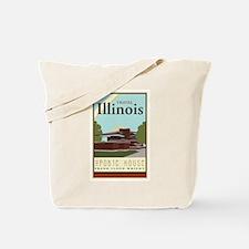 Travel Illinois Tote Bag