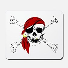 Pirate Skull Mousepad