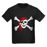 Pirate Kids T-shirts (Dark)