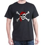 Pirate Mens Classic Dark T-Shirts